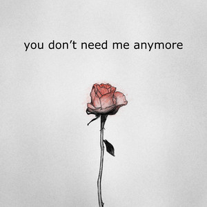 you don't need me anymore