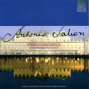 Concerto for Piano and Orchestra in C Major: II. Larghetto by Antonio Salieri, Orchestra del Conservatorio Cimarosa Avellino, Antonio Sinagra, Costantino Catena