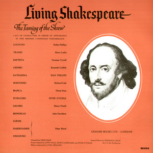 Shakespeare's the Taming of the Shrew Audiobook