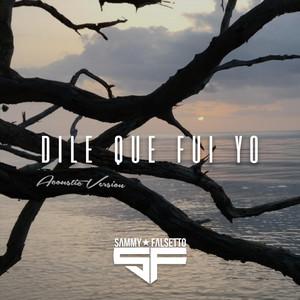 Dile Que Fui Yo (Acoustic Version)
