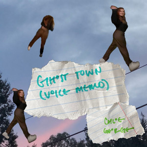 ghost town (voice memo) cover art