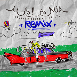 Mala Mía - Remix by Maluma, Becky G, Anitta