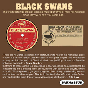 Black Swans: The First Recordings of Black Classical Music Performers album