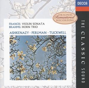 Sonata For Violin And Piano In A: 1. Allegretto ben moderato by César Franck, Itzhak Perlman, Vladimir Ashkenazy