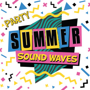 Party Summer Sound Waves