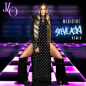 Medicine - Steve Aoki from the Block Remix cover art