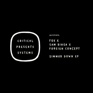 Critical Presents: Systems 014 - Simmer Down EP