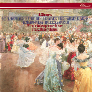 Radetzky-Marsch, Op.228 by Johann Strauss I, Vienna Volksoper Orchestra, Franz Bauer-Theussl