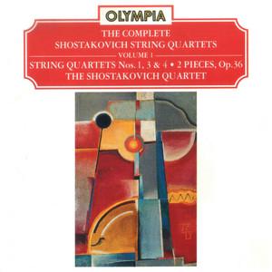 String Quartet No. 4 in D Major, Op. 83: I. Allegretto