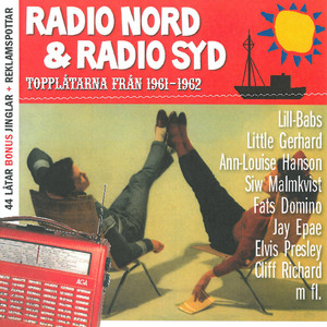 Radio Nord & Radio Syd Topplåtarna från 1961-1962
