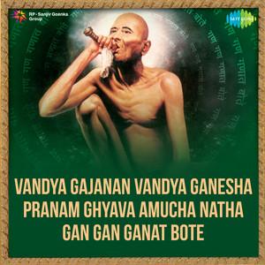 Vandya Gajanan Vandya Ganesha / Pranam Ghyava Amuc... cover art