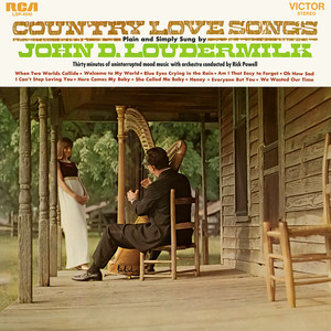 Country Love Songs Plain and Simply Sung By album