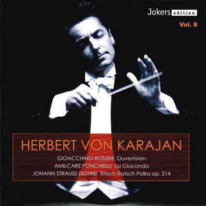 """Tritsch-Tratsch-Polka, Op. 214: """"Tritsch-Tratsch-Polka"""" by Philharmonia Orchestra, Herbert von Karajan"""