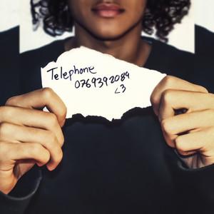 på min telephone toda la noche