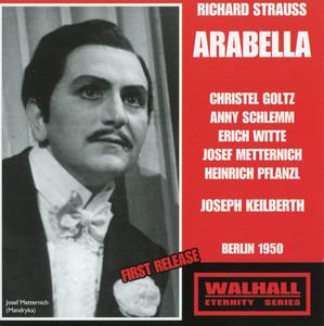 Arabella, Op. 79, TrV 263: Act I: Hab' ich die Ehre mit dem Rittmeister Graf Waldner? (Mandryka) cover art