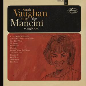 Sarah Vaughan Sings The Mancini Songbook (Reissue) album