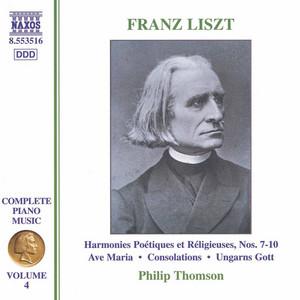 Consolations, S172/R12: No. 2. Un poco piu mosso by Franz Liszt, Philip Thomson