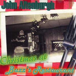 Christmas At Buzz's Restaurant by John Altenburgh