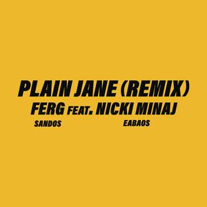 Plain Jane REMIX (feat. Nicki Minaj) cover art