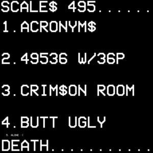 495 Acronyms