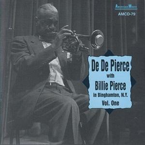 De De Pierce with Billie Pierce album