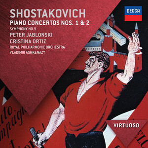 Piano Concerto No.1 for piano, trumpet & strings, Op.35: 3. & 4. - Moderato - Allegro con brio