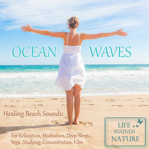 Amazing Sound Of Surf With Big Waves (White Noise)... cover art