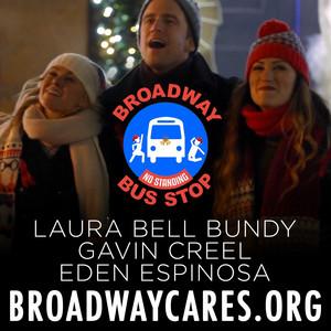Christmas Broadway Bus Stop