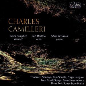 Trio No. 2 for Clarinet, Cello and Piano: I. Andante molto calmo