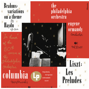 Brahms: Variations on a Theme by Joseph Haydn, Op. 56a - Liszt: Les Préludes, S. 97 (Remastered)