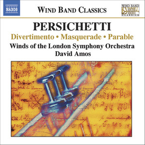 Divertimento, Op. 42: Prologue - Song - Dance - Burlesque - Soliloquy - March by Vincent Persichetti, London Symphony Orchestra Wind and Percussion Ensemble, David Amos
