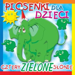 Cztery Zielone Słonie cover art