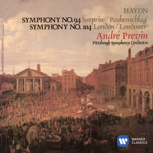 """Haydn: Symphony No. 94 in G Major, Hob. I:94 """"Surprise"""": IV. Allegro di molto by Franz Joseph Haydn, André Previn, Pittsburgh Symphony Orchestra"""
