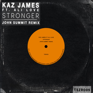 Stronger - John Summit Remix cover art
