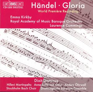 Handel: Gloria / Dixit Dominus album