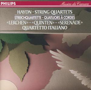 """String Quartet in D Minor, H.III, Op.76 No.2 - """"Fifths"""": 4. Finale (Vivace assai)"""