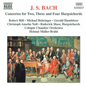 Concerto For 2 Keyboards In C Minor, BWV 1060: III. Allegro by Cologne Chamber Orchestra, Michael Behringer, Robert Hill, Johann Sebastian Bach