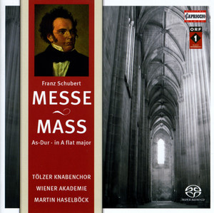Mass No. 5 in A-Flat Major, D. 678: Benedictus cover art