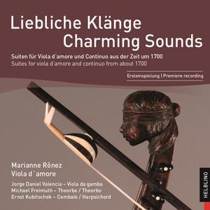 Viola D'amore Suite No. 7 In F Major - I. Allemande (Variatio)