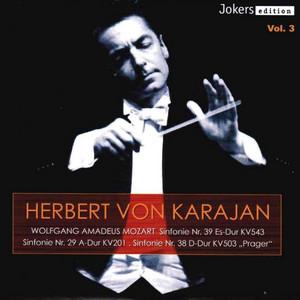 Symphony No. 29 in A Major, K. 201: IV. Allegro con spirito by Philharmonia Orchestra, Herbert von Karajan
