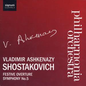 Festive Overture by Dmitri Shostakovich, Vladimir Ashkenazy, Philharmonia Orchestra