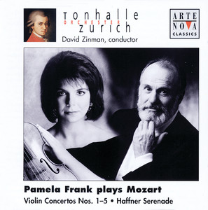 Violin Concerto No. 4 in D Major, K. 218: II. Andante cantabile by David Zinman, Wolfgang Amadeus Mozart, Pamela Frank