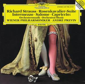 Capriccio, Op. 85, TrV 279: Mondscheinmusik by Richard Strauss, Wiener Philharmoniker, André Previn