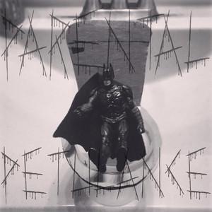 Batman on the Potty