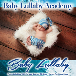 Brahms Lullaby and White Noise Ocean Waves cover art