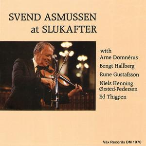 Svend Asmussen at Slukafter album
