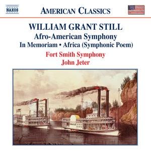 """Symphony No. 1, """"Afro-American"""": IV. Aspiration (Lento, con risoluzione) cover art"""