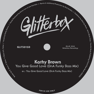 Kathy Brown – You Give Good Love (Studio Acapella)