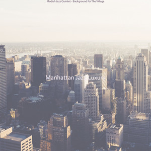 Glorious Sax Jazz - Vibe for SoHo cover art