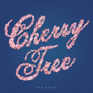 Cherry Tree b/w Roses